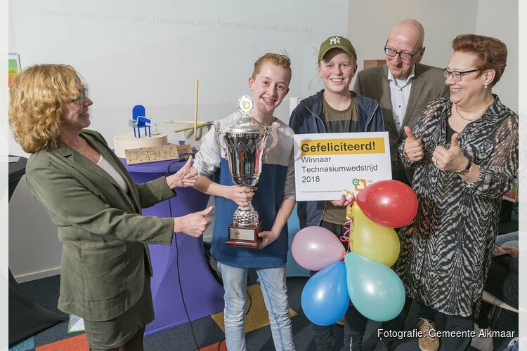 Technasiumwinnaar is bekend