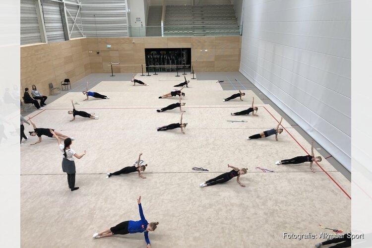 Ritmische gymnastiek in De Meent Bauerfeind