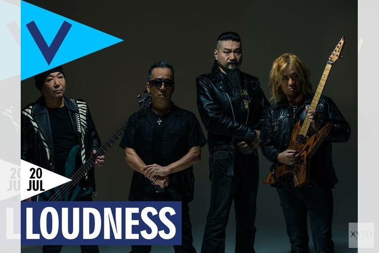 Japanse rocksensatie Loudness naar Podium Victorie